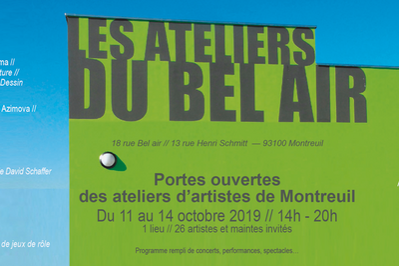Portesouvertesdes ateliers de Montreuil