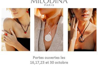 Portes Ouvertes Milodina - bijoux en verre de Murano à Poissy
