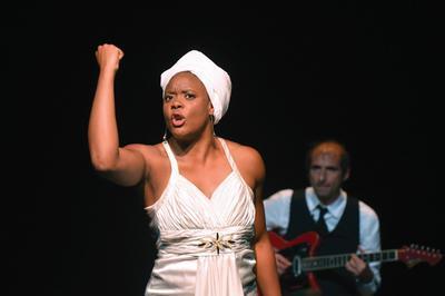 Portrait De Ludmilla En Nina Simone à Amiens