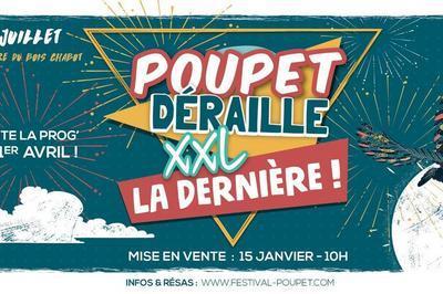 Poupet Déraille XXL à Saint Malo du Bois