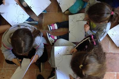 Pour Les Enfants En Visite à L'abbaye De Flaran... à Valence sur Baise