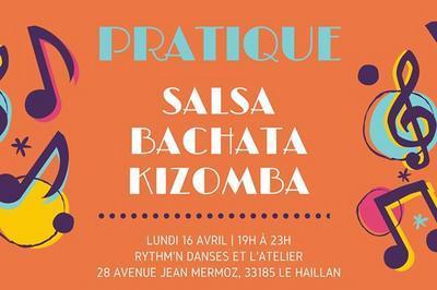 Pratique Salsa, Bachata, Kizomba à Le Haillan