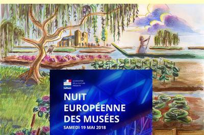 Première Participation Du Musée Des Hortillonnages à La Nuit Européenne Des Musees à Rivery