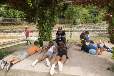 Présence Du Cultur'en Bus - Atelier Enfant à Saint Romain en Gal