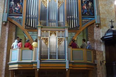 Présentation De L'orgue à Caumont sur Durance