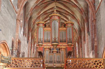 Présentation De L'orgue Silbermann à Strasbourg