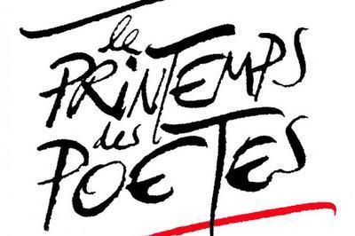 Printemps des poètes à Paris en 2018