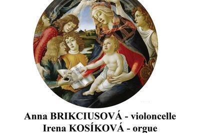 Concert pour orgue et deux violoncelles a Gimont