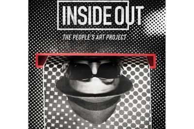 Projection Du Film Inside Out Sur Le Street Artist Jr à Issy les Moulineaux