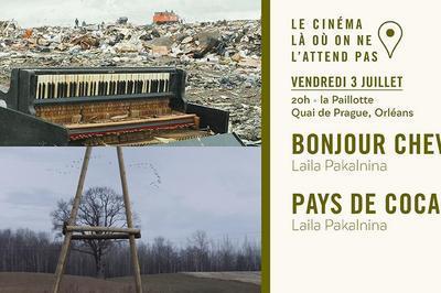 Projection en plein air dédiée à la réalisatrice Laila Pakalnina à Orléans
