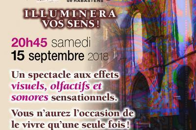 Projection Notre-dame Du Bourg Illuminera Vos Sens à Rabastens