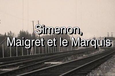 Projection Simenon, Maigret Et Le Marquis. à Vichy