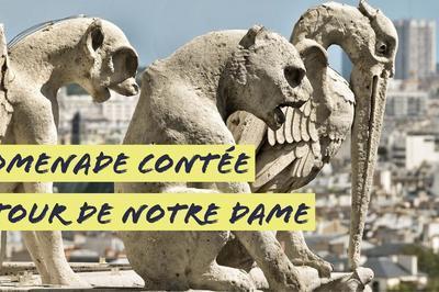 Promenade Contée Autour De Notre Dame à Paris 4ème