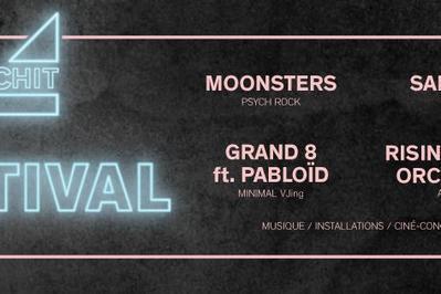 Pschit Festival : Moonsters + RCO + Saboten + Grand 8 à Saint Ouen