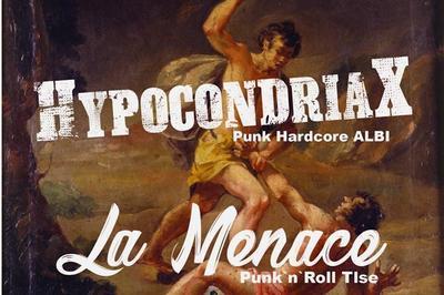 Punk X-MAS Party - Hypocondriax et La Menace à Albi