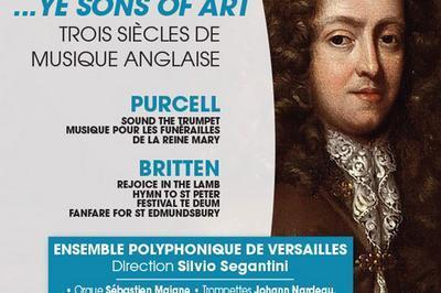 Purcell Haendel Britten à Saint Germain en Laye