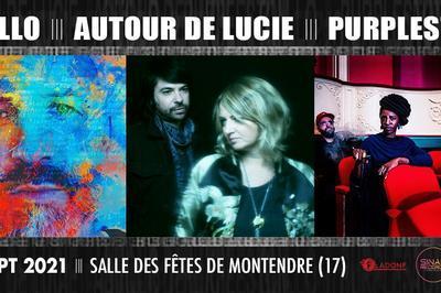 GUILLO &   AUTOUR DE LUCIE &    PURPLESTON à Montendre