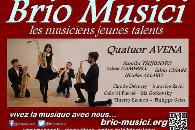 Quatuor Avena ? saxophones - Autour de Debussy à Blaesheim