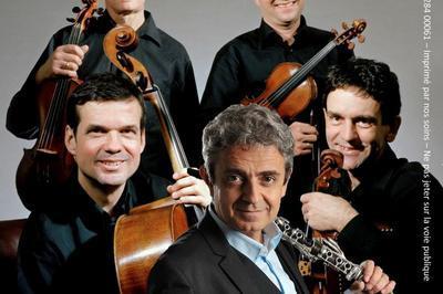 Quatuor SIne Nomine avec Pascal Moragues Clarinette à Nancy