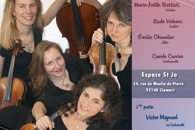 Quatuor Turbulences En Concert à Clamart