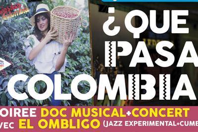 Que Pasa Colombia ? Soirée doc musical et concert à Annecy