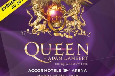 Queen et Adam Lambert - report date mai à Paris 12ème