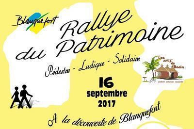 Rallye Du Patrimoine Pédestre, Ludique Et Solidaire à Blanquefort