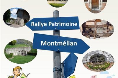 Rallye Patrimoine à Montmelian