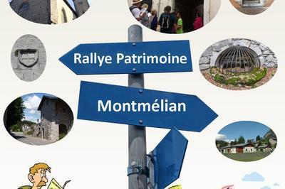 Rallye Patrimoine. à Montmelian