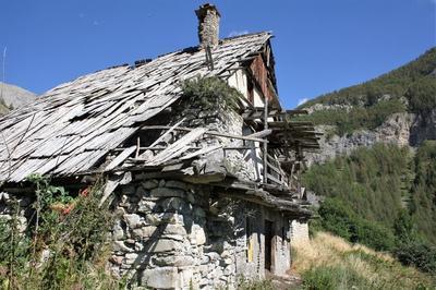 Randonnée Patrimoine - Hameau Champrichard - Coeur Du Parc National Du Mercantour à Allos