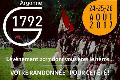 Randonnées historiques Argonne 1792 à Grandpre