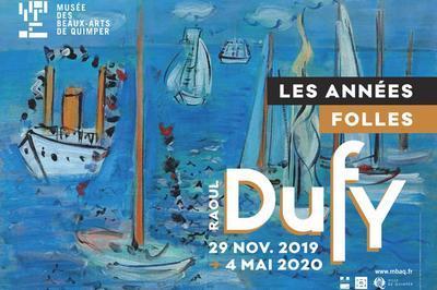 RAOUL DUFY (1877-1953), Les années folles à Quimper