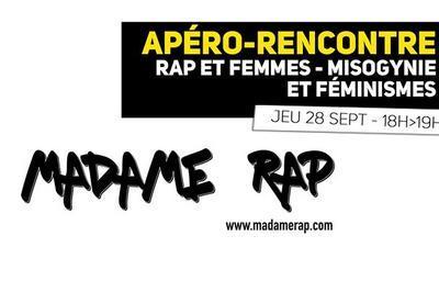 Rap et femmes - misogynie et féminismes / apéro-rencontre à Lille