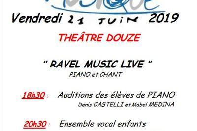 Ravel Music Live 2019 à Paris 12ème