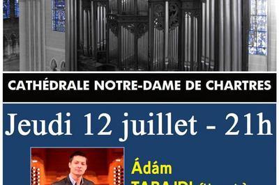 Récital Ádám TABAJDI - Soirées estivales 2018 à Chartres