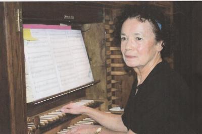 Récital d'orgue d'Annie Leenhardt à Montelimar