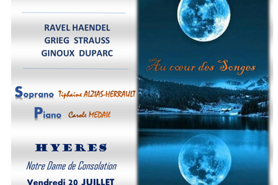 Recital melodique  à Hyeres