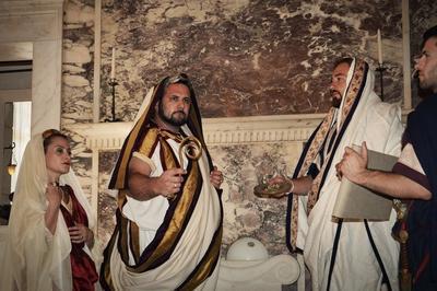 Reconstitution Historique : L'empereur Hadrien Rend Un Culte à Mars Cemenelus à Nice