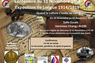Exposition Ile Longue 1914-1919 à Varennes Changy