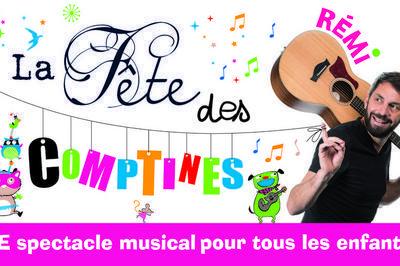 REMI chante La Fête des Comptines à Besancon