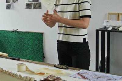 Rencontre Autour De L'exposition De Roxane Kisiel à Issoudun