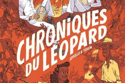 Rencontre Avec Le Scénariste Appollo à L'occasion De La Sortie De La Bande Dessinée Chroniques Du Léopard à Saint Denis