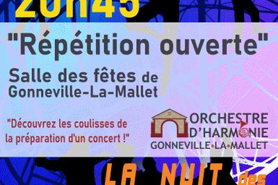 Répétition Ouverte - 7ème nuit des Conservatoires à Gonneville la Mallet