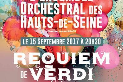 Requiem De Verdi - Les 30 Ans De L'ensemble Orchestral Des Hauts-de-seine à Courbevoie