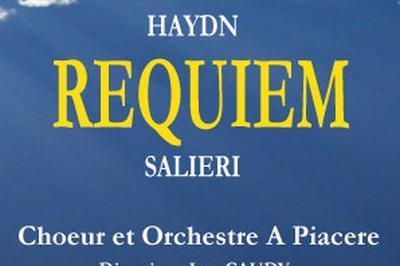 Requiem /Michael Haydn/Antonio Salieri à Tours