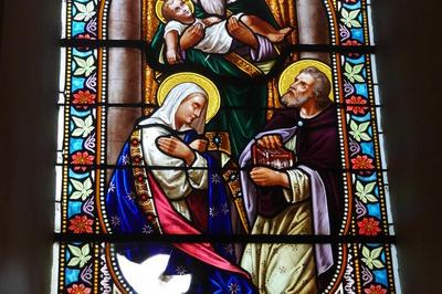 Restauration Des Vitraux De L'église De Saffloz