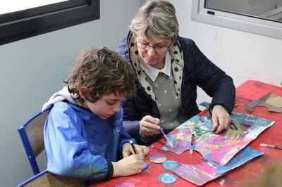 Restitution Du Projet Pédagogique Avec Les Enfants Autistes De L'epeam à Le Touquet Paris Plage