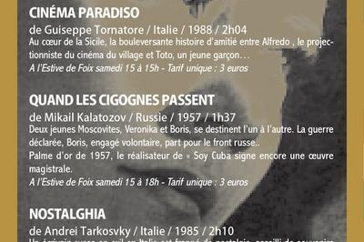 Retro: Journées Du Cinéma De Patrimoine 2018