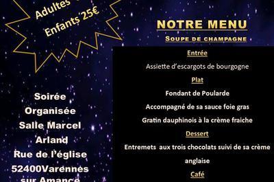 Reveillon de la saint sylvestre à Varennes sur Amance