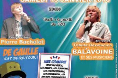 Révolucion Balavoine & Hommage Pierre Bachelet à Calais